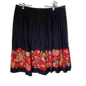 Isaac Mizrahi Target women's skirt size 16 cotton